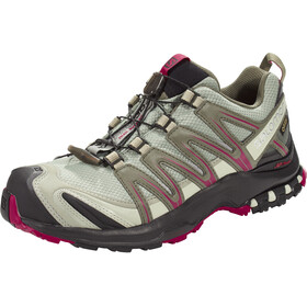 Salomon XA Pro 3D GTX Trailrunning Schuhe Damen shadow/black/sangria